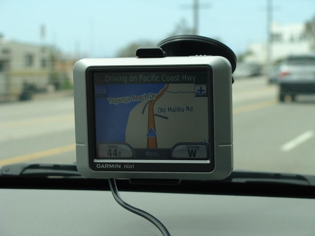 Sat Nav, satellite navigation system
